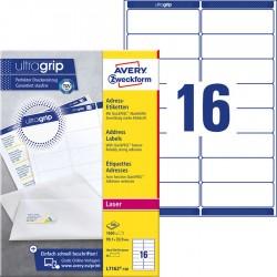 Etykiety adresowe białe Avery Zweckform A4, 100 ark./op., 99,1 x 33,9 mm