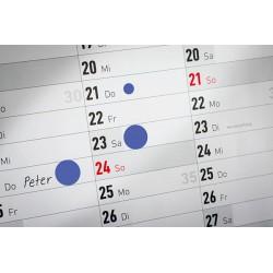 Kółka do zaznaczania w dyspenserze, trwałe, 250 szt. / rolka, Ø19 mm, niebieskie, Avery Zweckform
