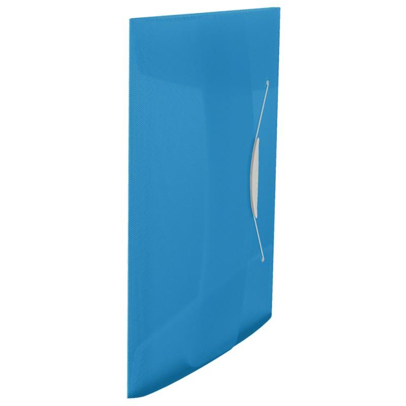 Teczka z gumką A4 Esselte Vivida 15 mm niebieska