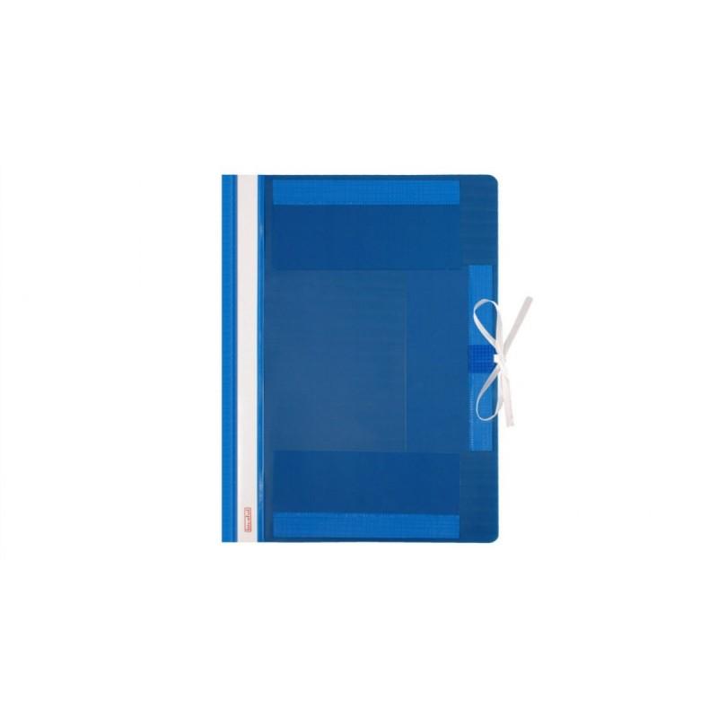 Teczka wiト�zana A4 plastikowa Biurfol niebieska