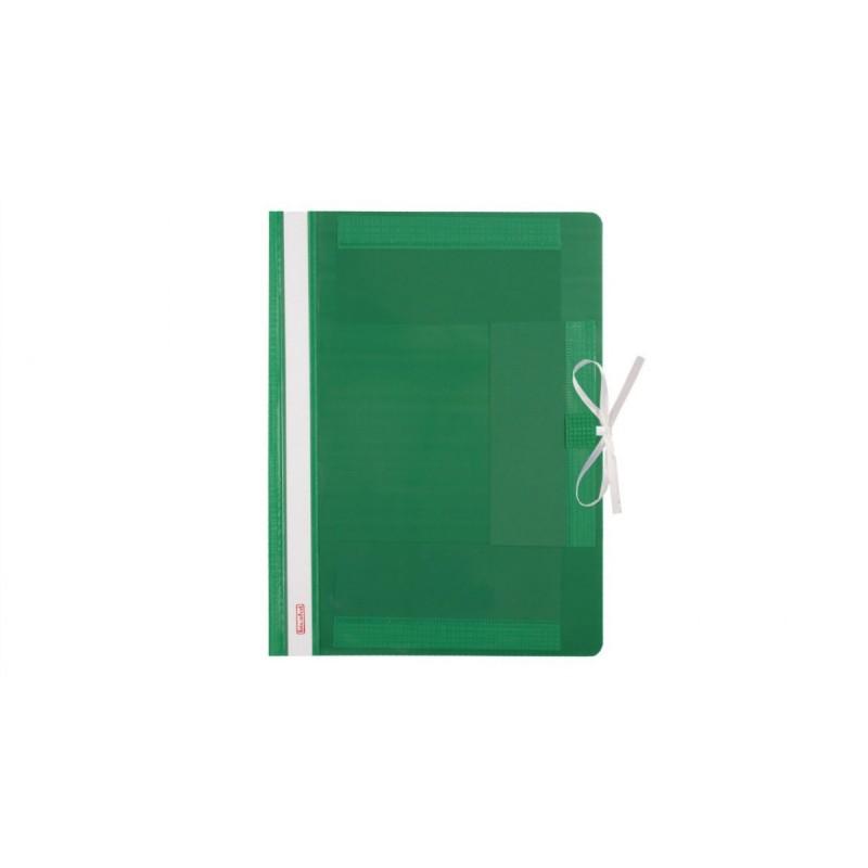 Teczka wiト�zana A4 plastikowa Biurfol zielona