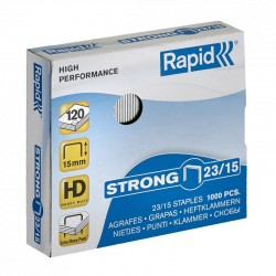 Zszywki Rapid Strong 23/15, 1000 szt.