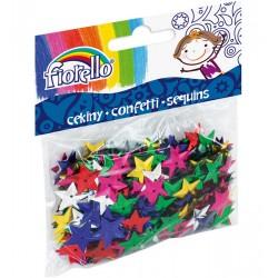 Cekiny confetti GR-C14-15 gwiazdki Fiorello
