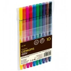 Cienkopis GRAND GR-280 10 kolorów
