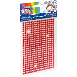 Diamenciki samoprzylepne Fiorello GR-DS039-1 czerwone