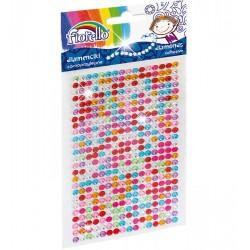 Diamenciki samoprzylepne Fiorello GR-DS041 małe mix kolorów