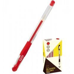 Długopis GRAND żelowy GR-101 czerwony