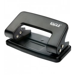 Dziurkacz EAGLE 709 czarny 8 kartek