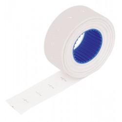 Etykiety do cen 2212-800 białe proste