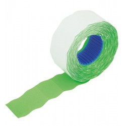 Etykiety do cen 2612-800 zielone faliste