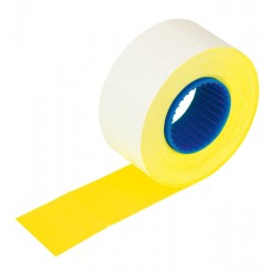 Etykiety do cen 2616-700 żółte proste
