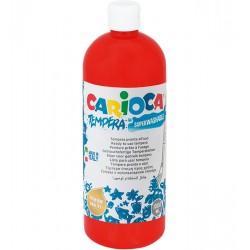 Farba Carioca tempera 1000 ml (KO030/10) czerwona