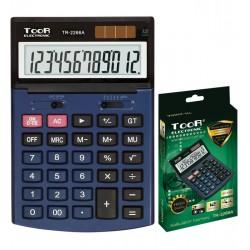 Kalkulator biurowy TOOR TR-2266A 12-pozycyjny