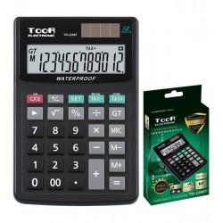 Kalkulator biurowy TOOR TR-2296T 12-pozycyjny 8211 wodoodporny