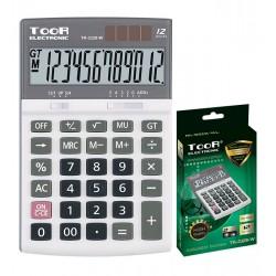 Kalkulator biurowy TOOR TR-2328-W 12-pozycyjny
