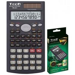 Kalkulator TOOR TR-511 10+2-pozycyjny naukowy