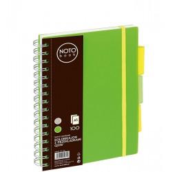 Kołobrulion Grand NOTObook A5 100 zielony linia