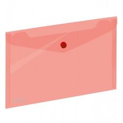 Koperta 043 A5 zatrzask czerwona GRAND