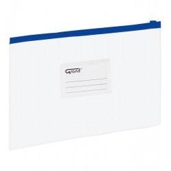 Koperta folia A4 EC009B suwak GRAND niebieska