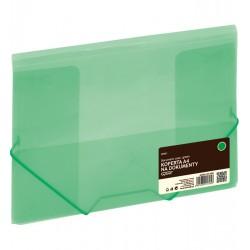 Koperta ZP041 A4 zielona na gumkト� GRAND