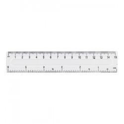 Linijka Fiorello plastikowa 8211 15cm GR-801