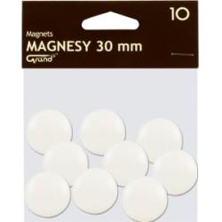 Magnes 30mm GRAND biały