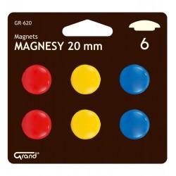 Magnesy CM-20mm / GR-620 blister