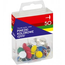 Pinezki GRAND kolorowe op. 8211 50 szt. T4