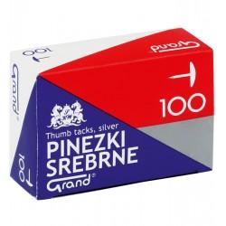 Pinezki GRAND S100 srebrne 8211 822110