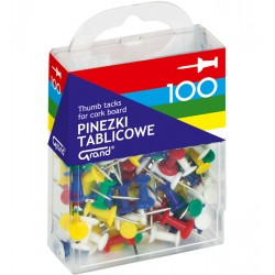 Pinezki GRAND tablicowe op.- 100 szt. op. plastik