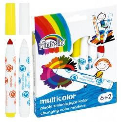 Pisaki MULTICOLOR zmieniajト�ce kolor Fiorello GR-F166 8211 6 kol. +2