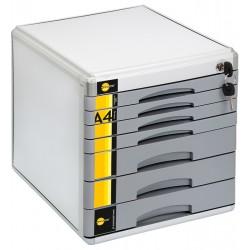 Szafka na dokumenty Yellow One SM07M 8211 7 szufl. +zamek