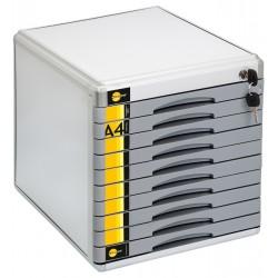 Szafka na dokumenty Yellow One YL-SM10 metalowa 8211 10 szufl. +zamek