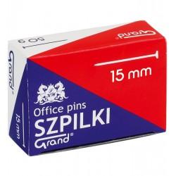 Szpilki krótkie 15mm 8211 50g GRAND 822110