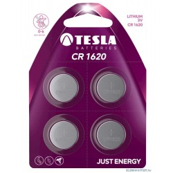 Bateria Tesla CR1620 4 szt. Blister foliowy