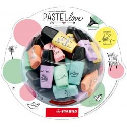 Stabilo BOSS MINI Pastellove display 50 szt.