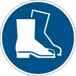 Znacznik podナPgowy - symbol 窶朦akaz stosowania ochrony stテウp窶�