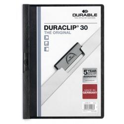 DURACLIP Original 30, skoroszyt zaciskowy A4, 1-30 kart.