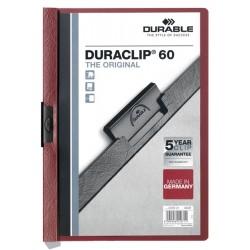 DURACLIP Original 60, skoroszyt zaciskowy A4, 1-60 kart.