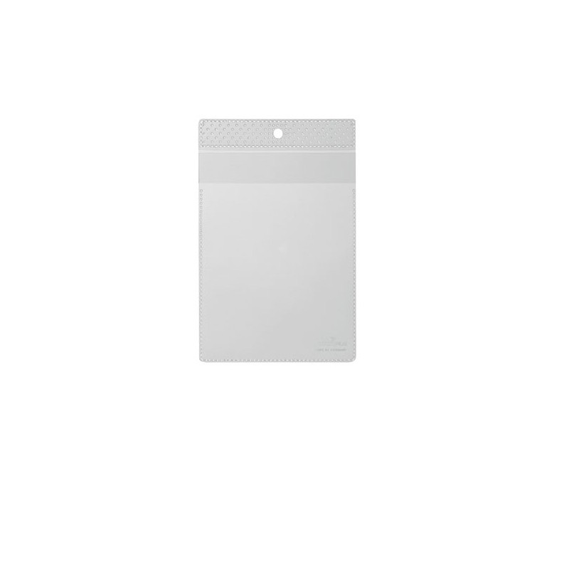 Obwoluta na dokumenty A6 z klapkト�, z otworem do zawieszenia pionowa