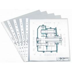 Koszulka na dokumenty A4 PP, 35 µm, luzem w pudełku - 100 szt.,