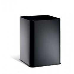 Kosz na śmieci, metalowy, kwadratowy 18,5 l