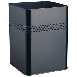 Kosz na śmieci, metalowy, kwadratowy 18,5 l, P 30 mm
