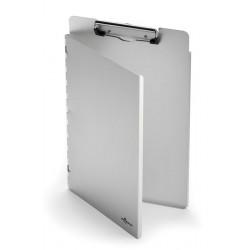 CLIPBOARD A4 L, wykonany z aluminium, z zamknięciem