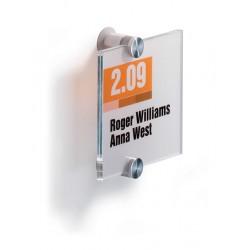 CRYSTAL SIGN tabliczka przydrzwiowa 105x105 mm