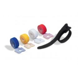 CAVOLINE GRIP TIE opaska rzep do spinania kabli 200 mm x 10 mm, kolory: czarny, biały, czerwony, żółty, niebieski