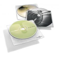 CD COVER, kieszeń na CD z PP z wyściółką ochronną i kieszenią na opis
