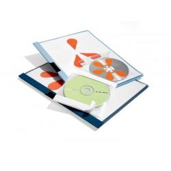 CD/DVD FIX, kieszeń samoprzylepna z wyściółką ochronną