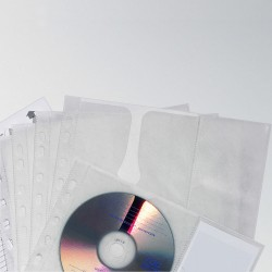 Kieszeナ� na 4 CD z PP z wyナ嫩iテウナLト� ochronnト�, do segr. A4