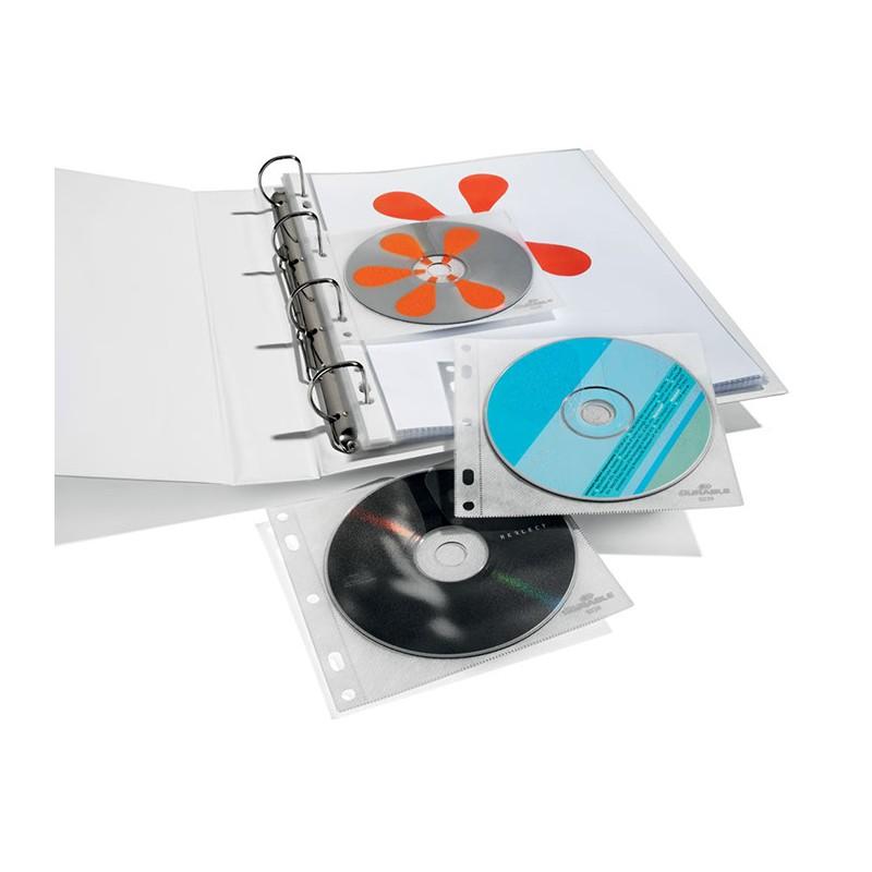 CD/DVD COVER FILE kieszonki z PP z wyナ嫩iテウナLト� ochronnト� na 1 CD/DVD i opis